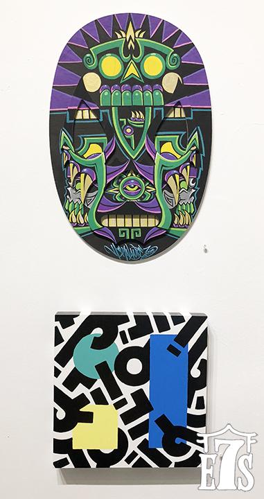 Urban Aztec (top)/Aaron de la Cruz (bottom)