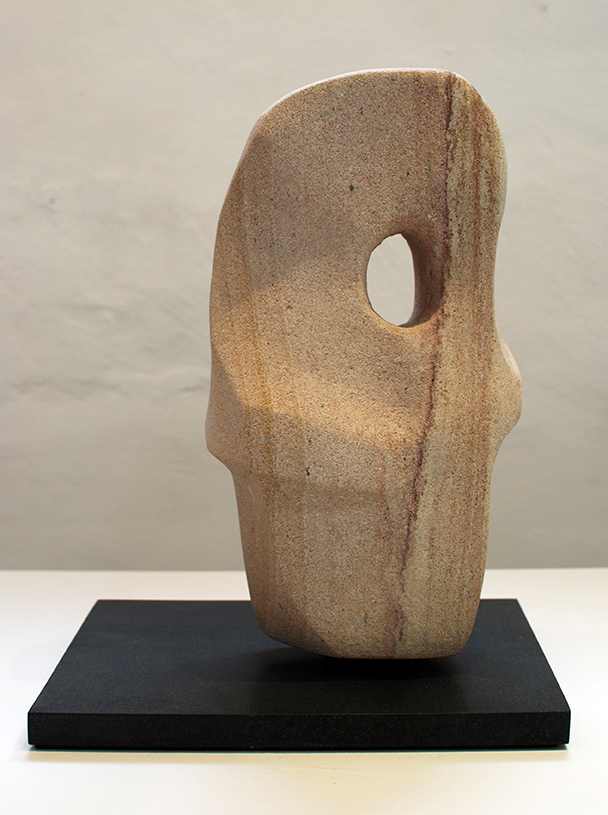 Copy of 'Facing', Simon Gandevia, Sandstone on Fontainbleu.