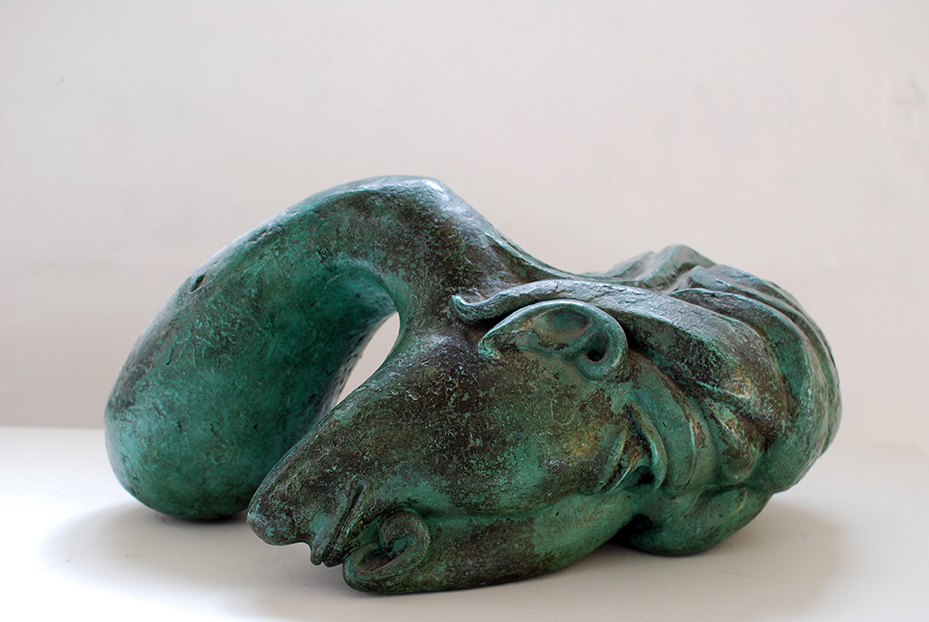 Copy of 'Grieving Woman', Bronze, Tom Bass.