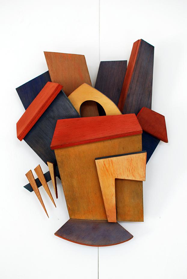 Copy of 'Redfern Station', Linda Bowden, plywood.