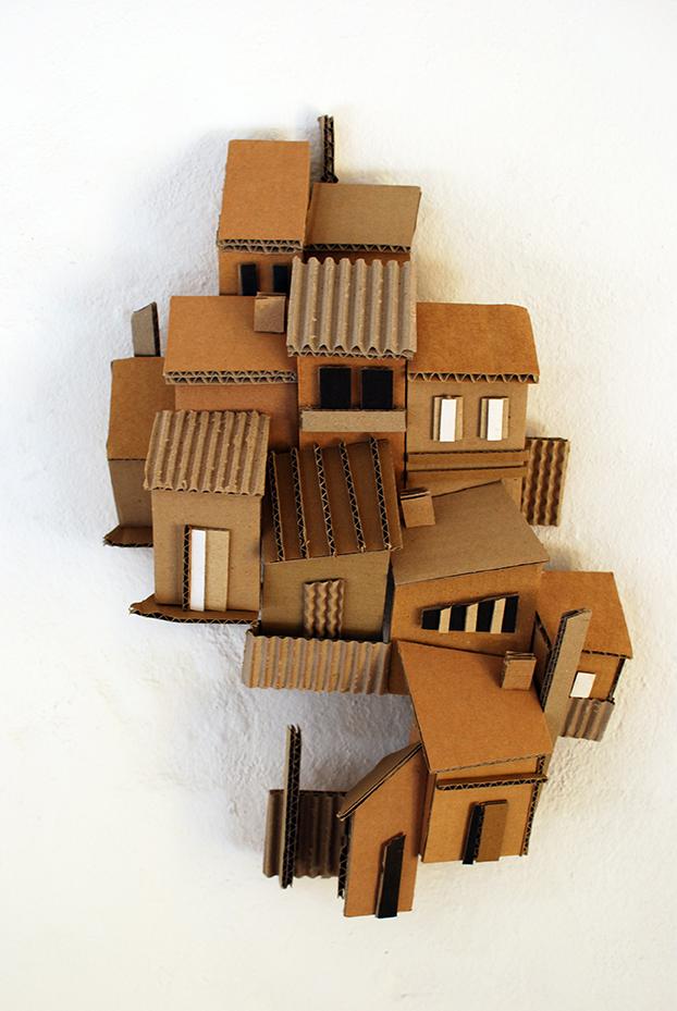 Copy of 'Enmore', Linda Bowden, cardboard.