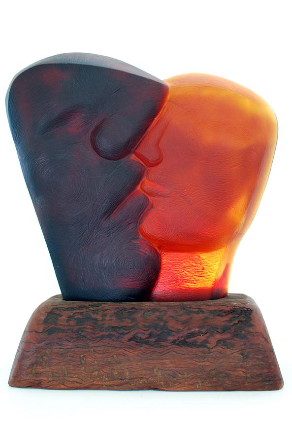 Copy of 'TJungu', Sallie Portnoy, glass.