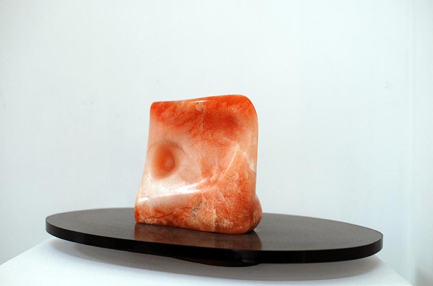 Copy of 'Polar Twilight', 2010, Alabaster, Elisabeth Thilo.