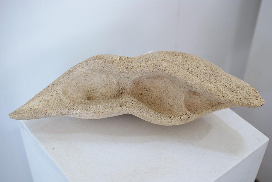 Copy of 'Seed pod', 2011, Limestone, Ian Kennedy.