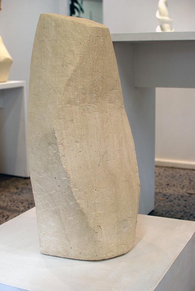 Copy of Limestone Workshop Piece, 2010, Limestone, Karen Alexander.