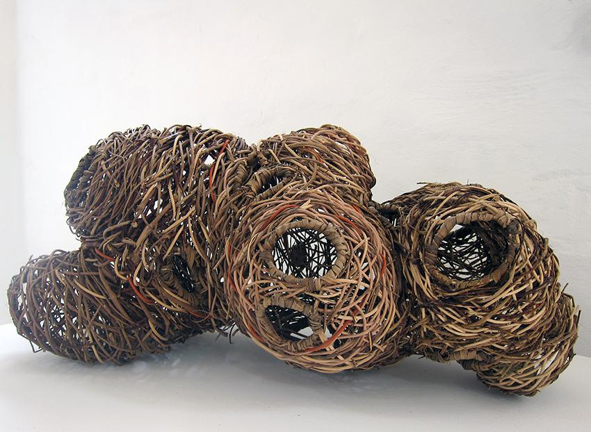 Copy of 'Venus of Mittagong', various plant fibres, Meredith Peach.