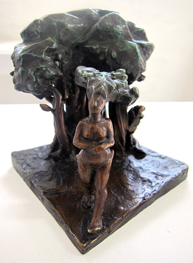 Copy of 'Out of the woods', Bronze, edition 2/3, Ingrid Morley. Represented by Defiance Gallery.