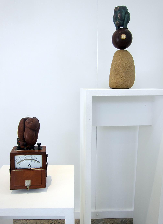Copy of Exhibition view. Sculptures by Anita Larkin.