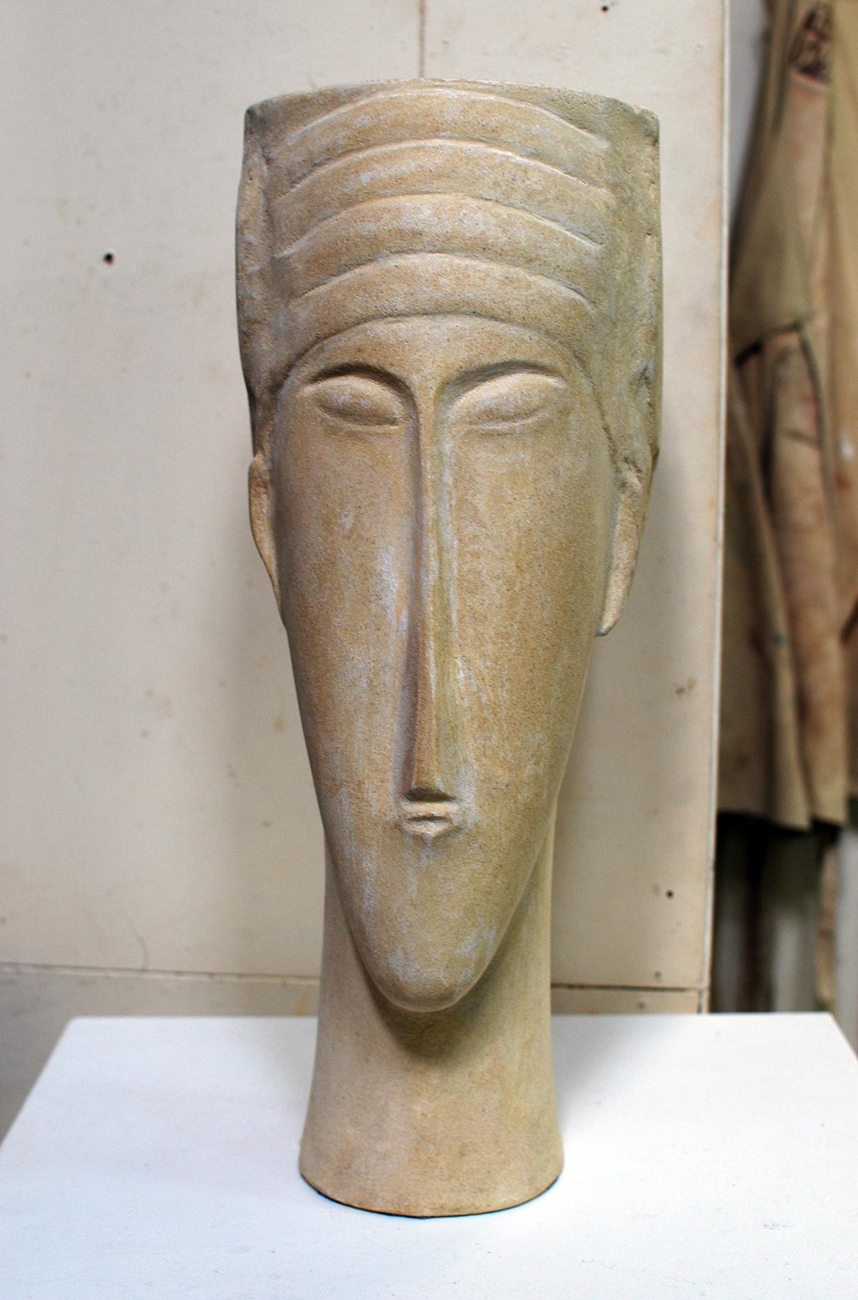 Copy of 'Modigliani Study', cement, $1,150