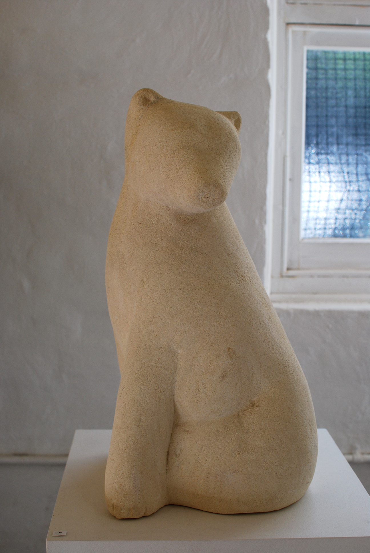 Copy of 'Baby Polar Bear', limestone, NFS