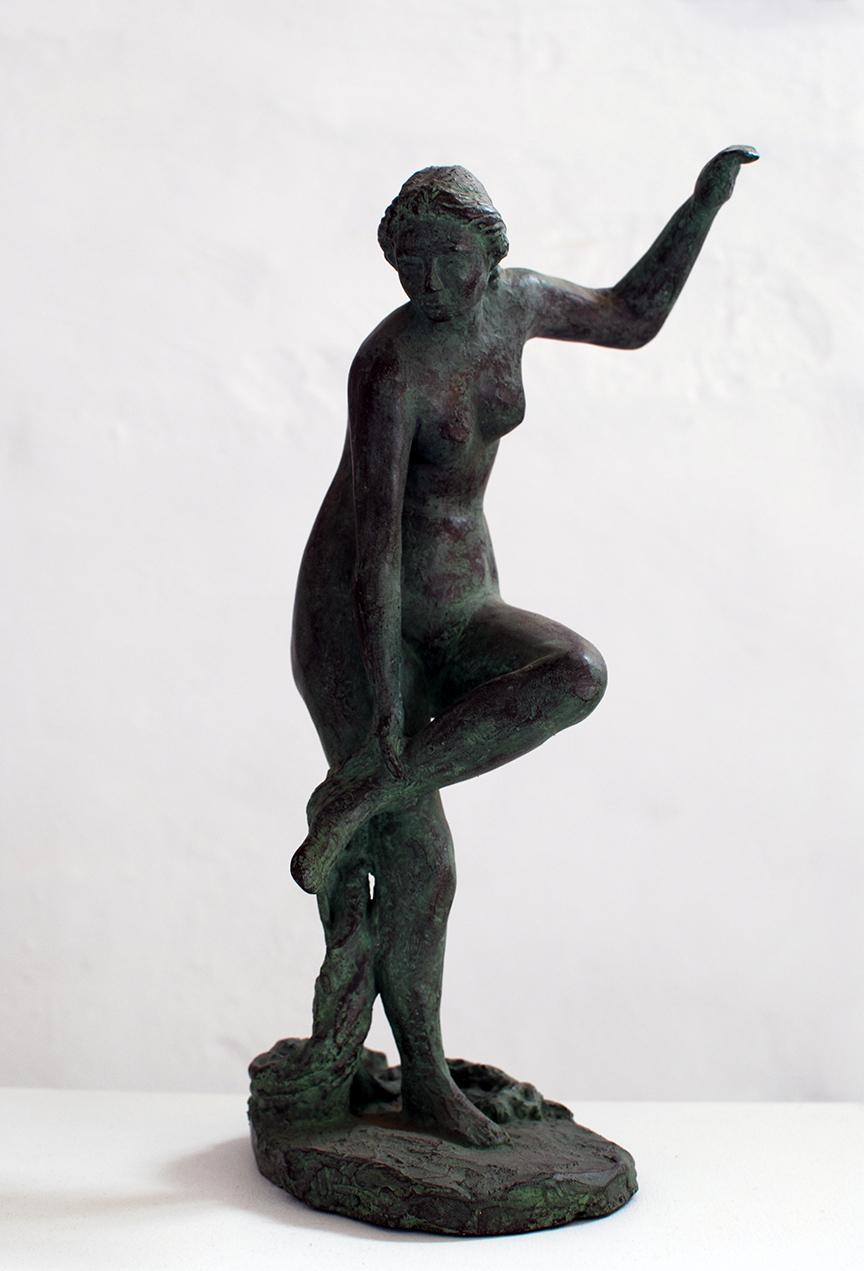 Copy of 'Aphrodite Removing Sandal', plaster, $700