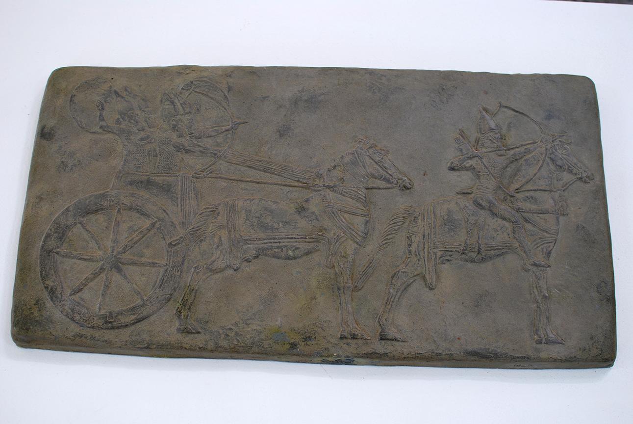 Copy of Assyrian Tablet, plaster, $500