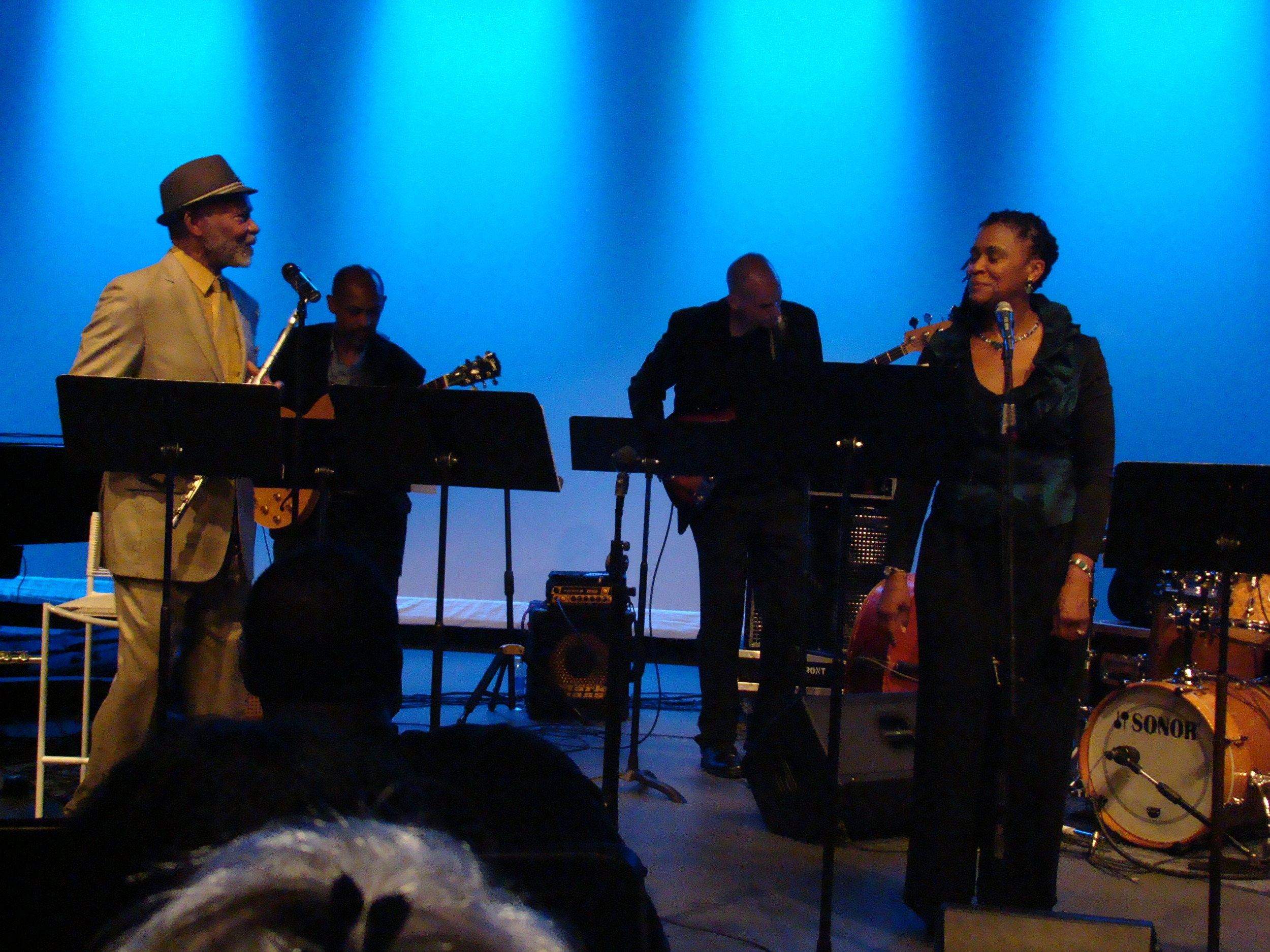 Hubert Laws and Lenora Zenzalai Helm