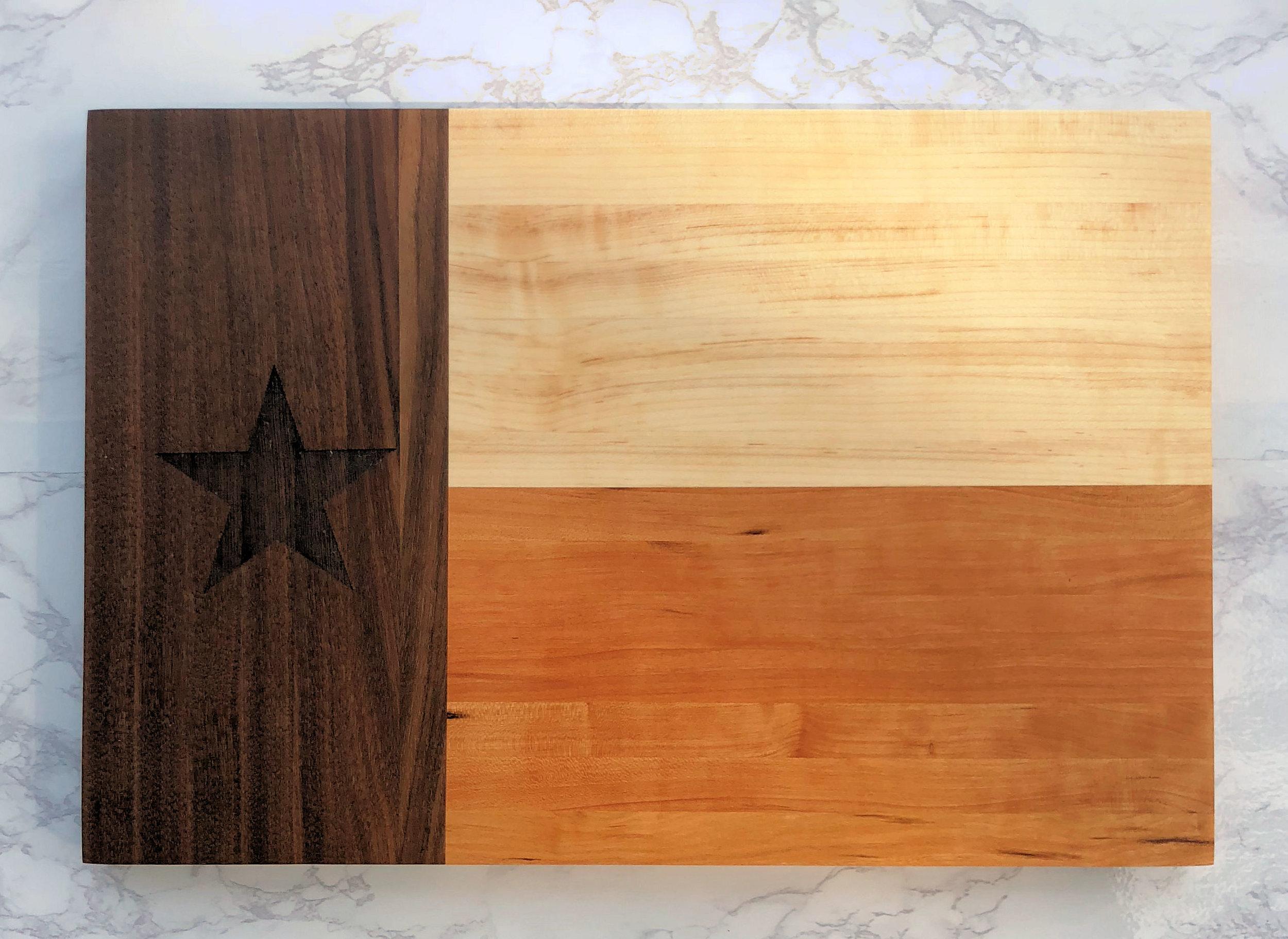 Texas-Flag-Cutting-Board - Knotty Woodworx.jpg
