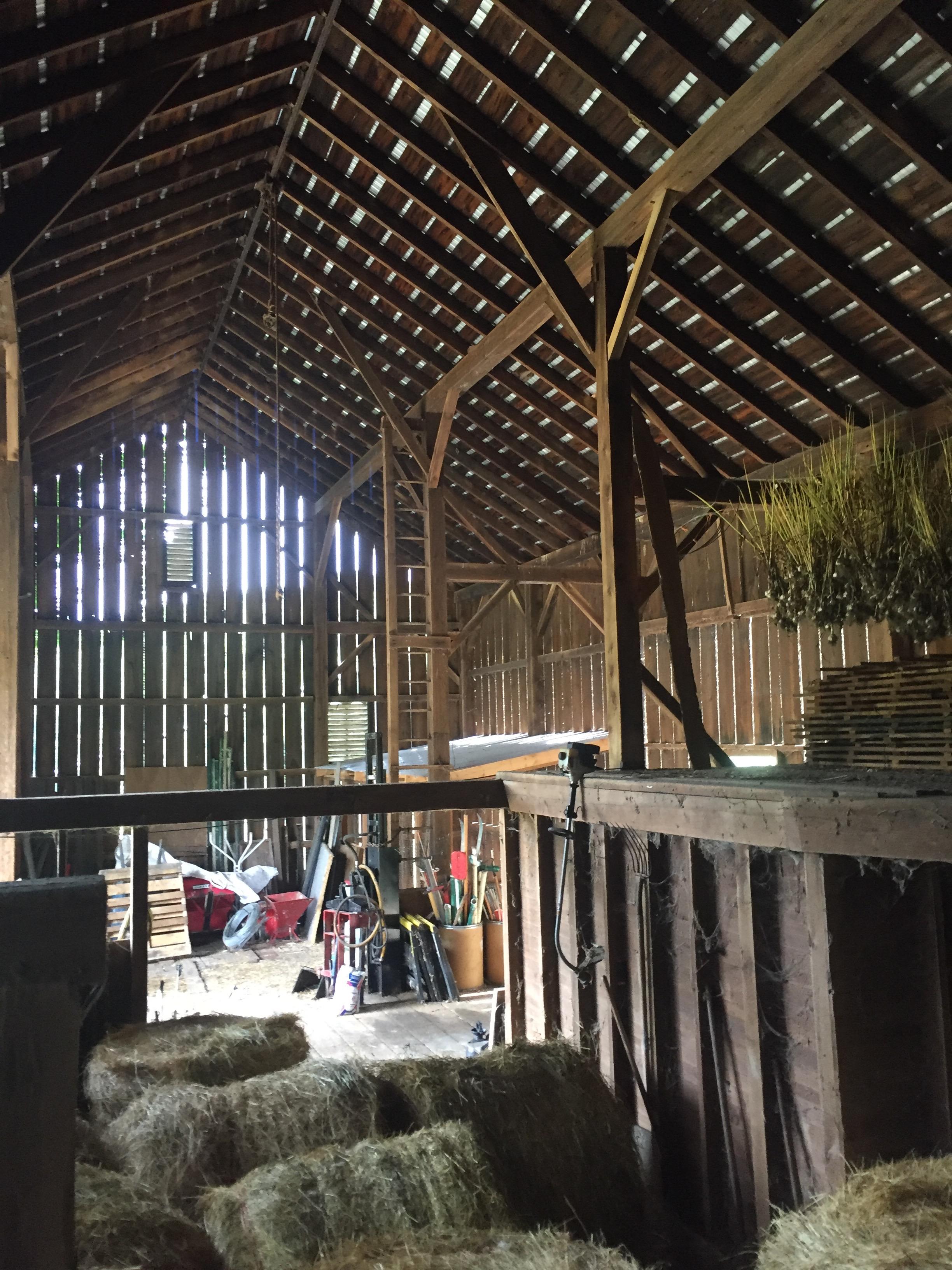 Cuyahoga Valley National Park Service Historic Barn restoration -