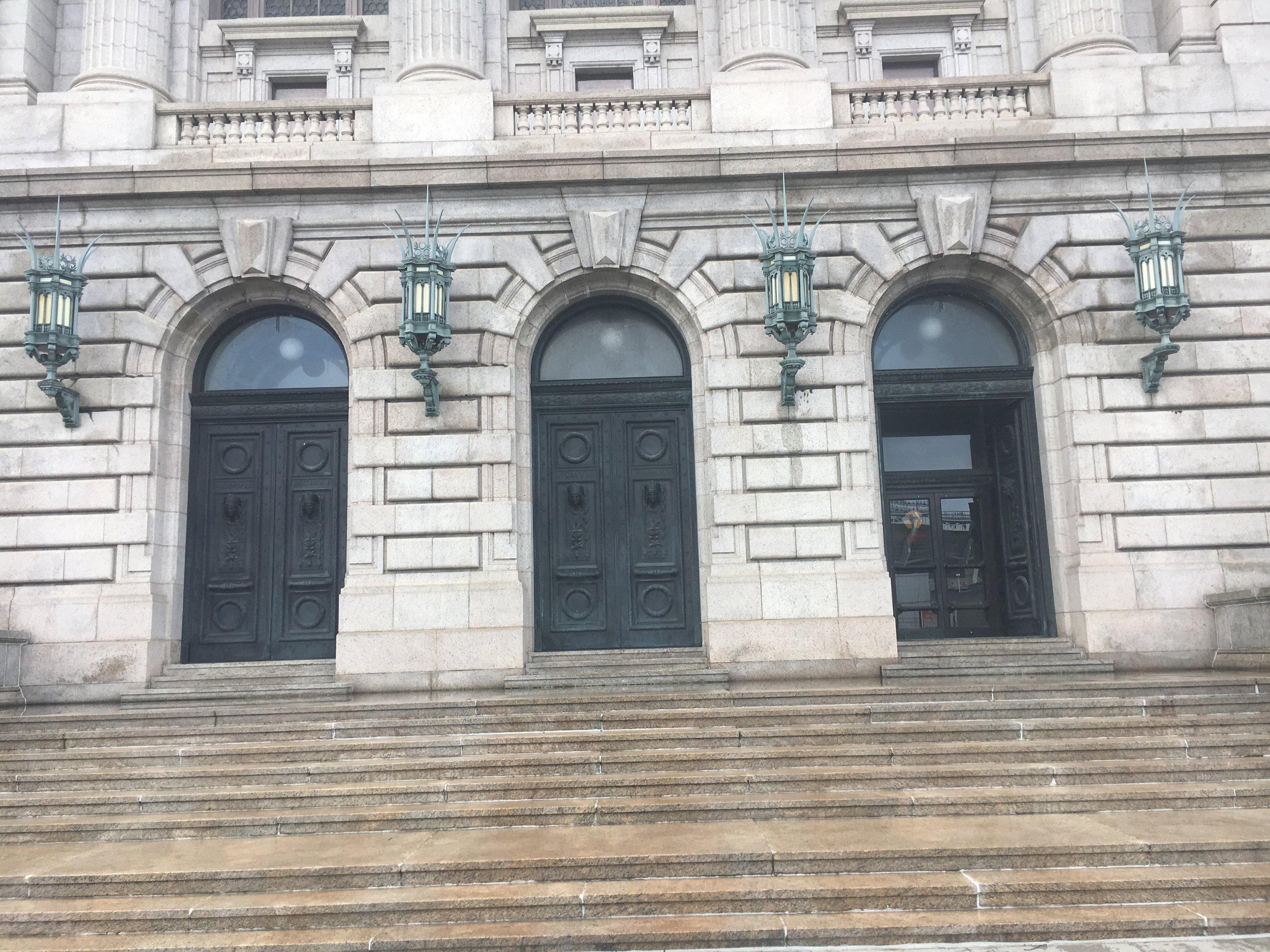 Cuyahoga County Court House -