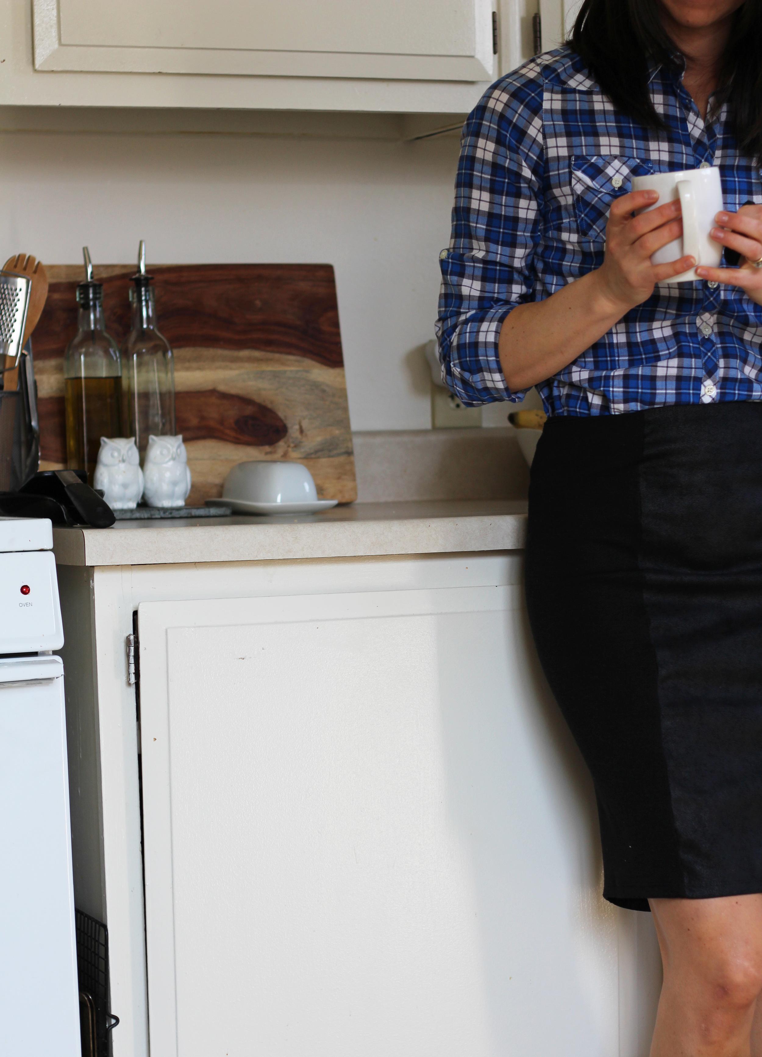 Pencil skirts & plaid.1
