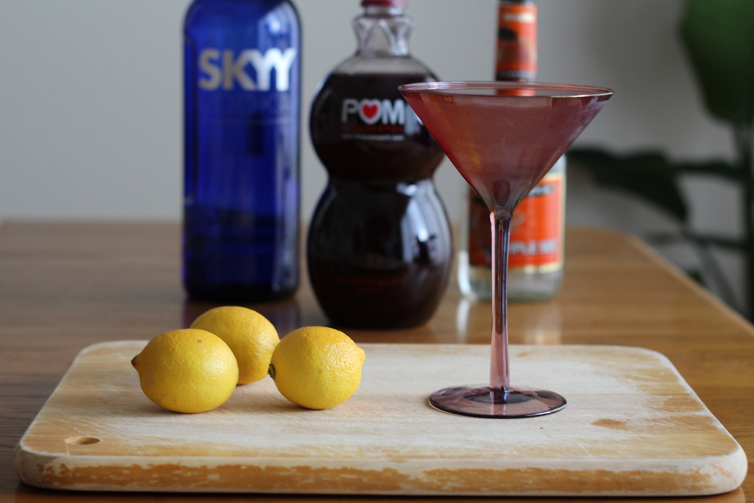 Kendra Castillo: Pomegranate Martini Recipe