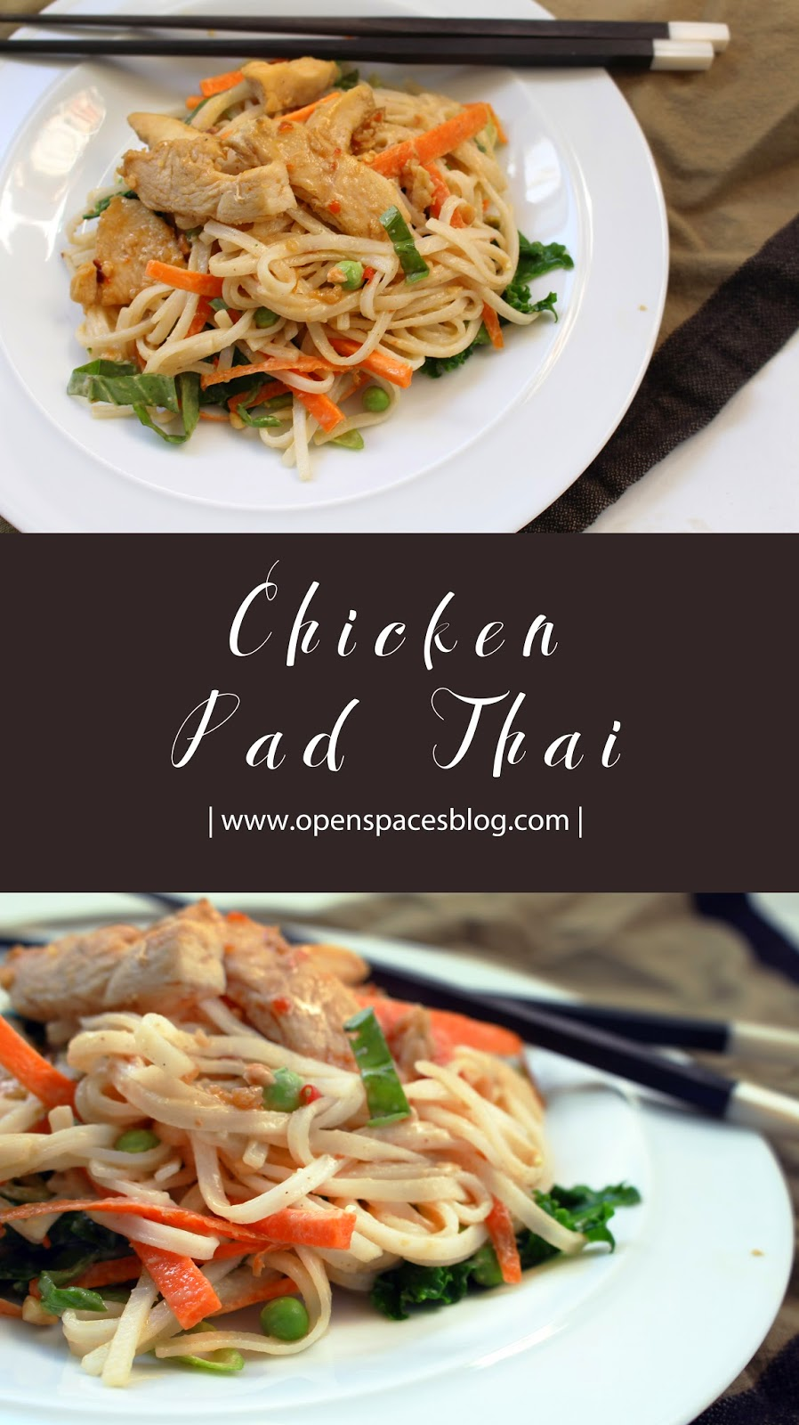 Kendra Castillo: Simple Chicken Pad Thai Recipe