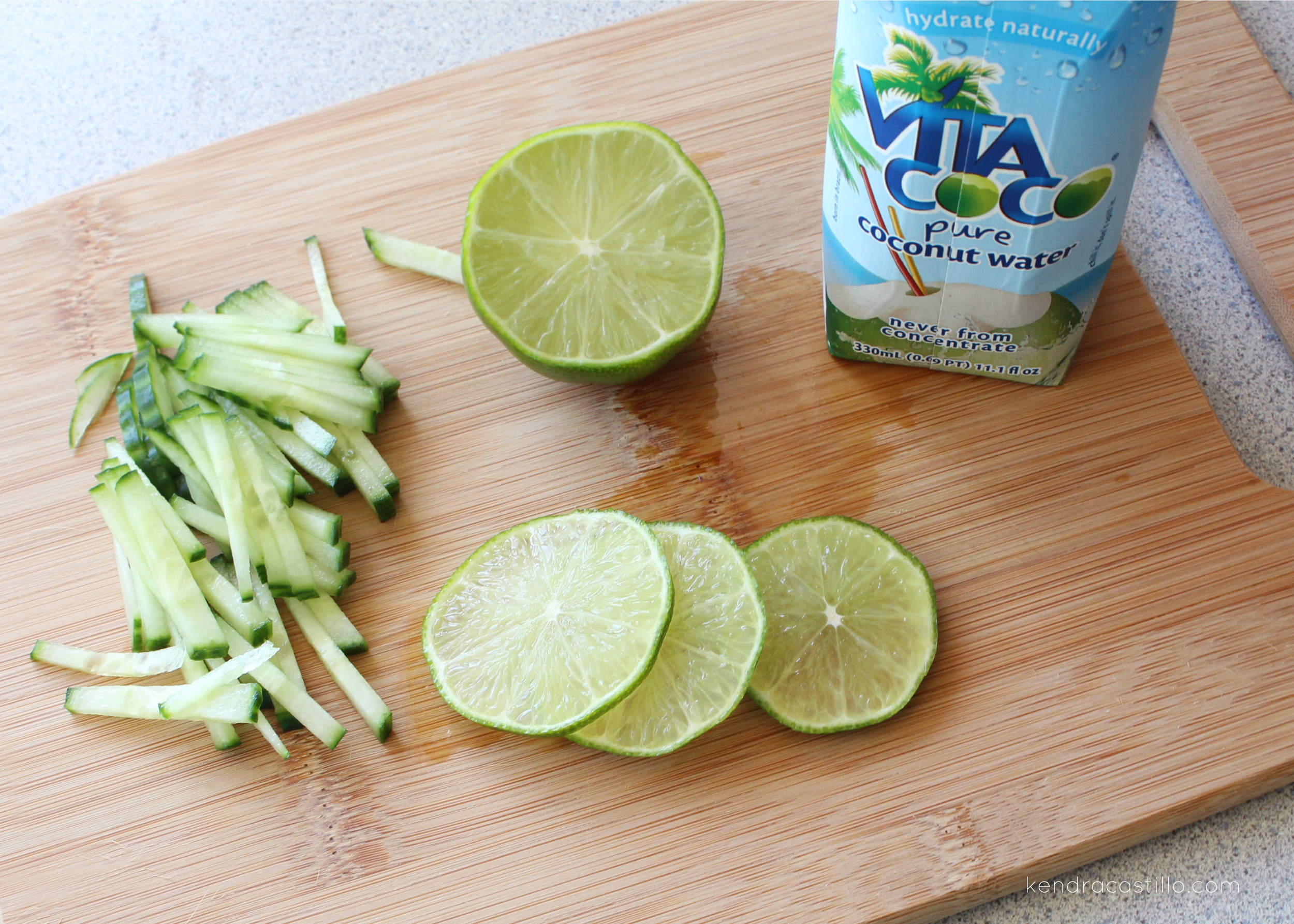 Kendra Castillo: Cucumber Coconut Lime Popsicle Recipe