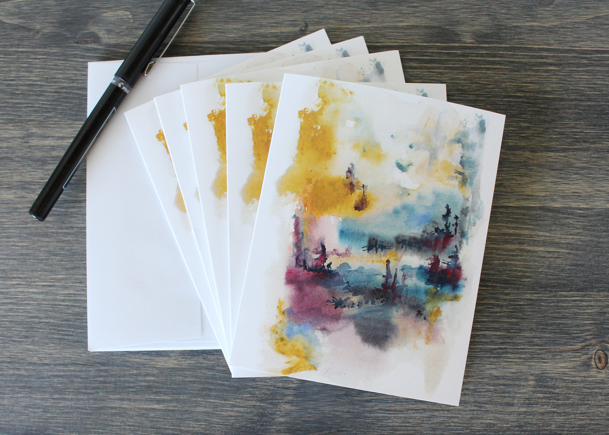 Original has been Sold, but you can still purchase this artwork on my Greeting Cards.
