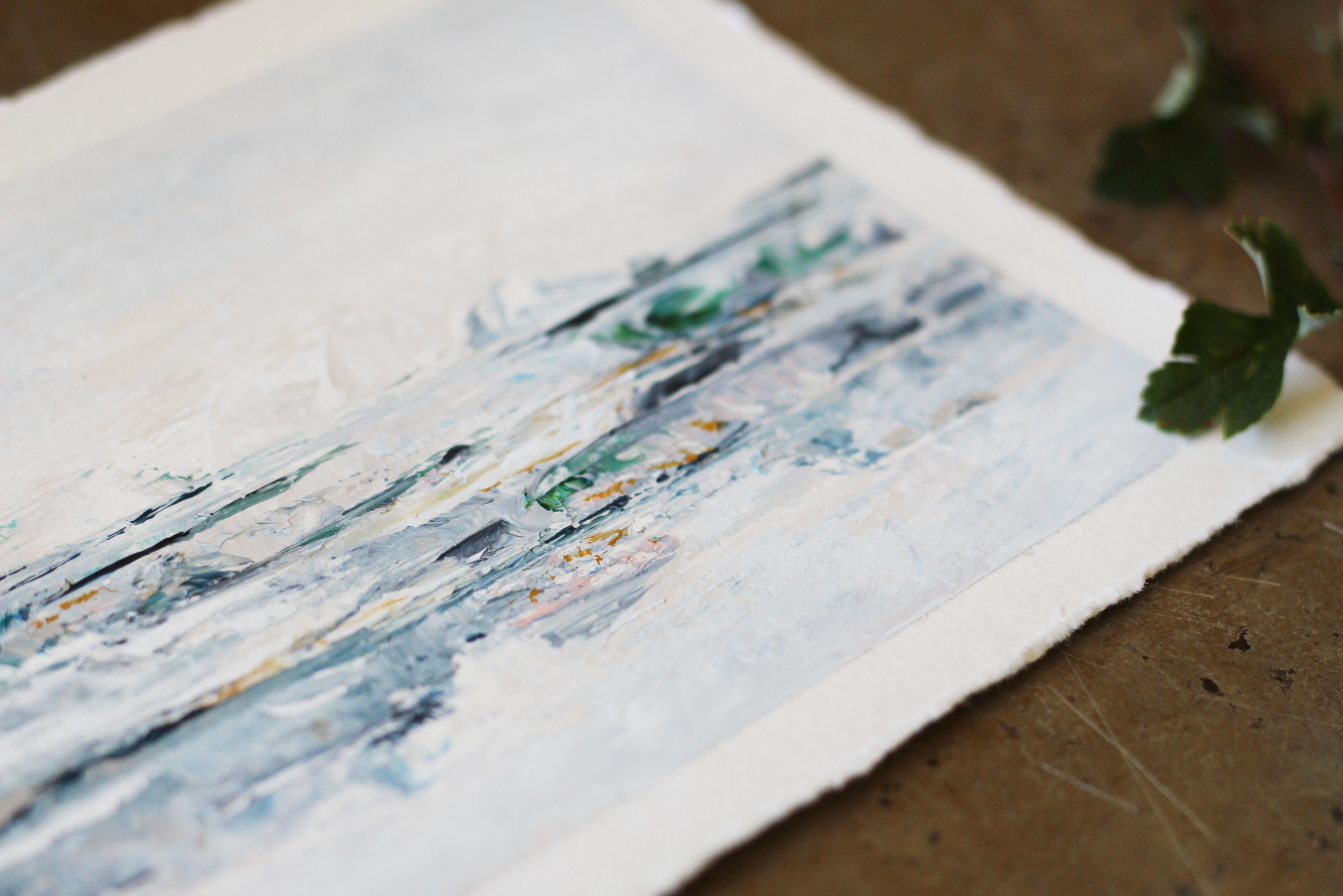 Kendra Castillo: Going Behind the Canvas // DISTANT WATERS