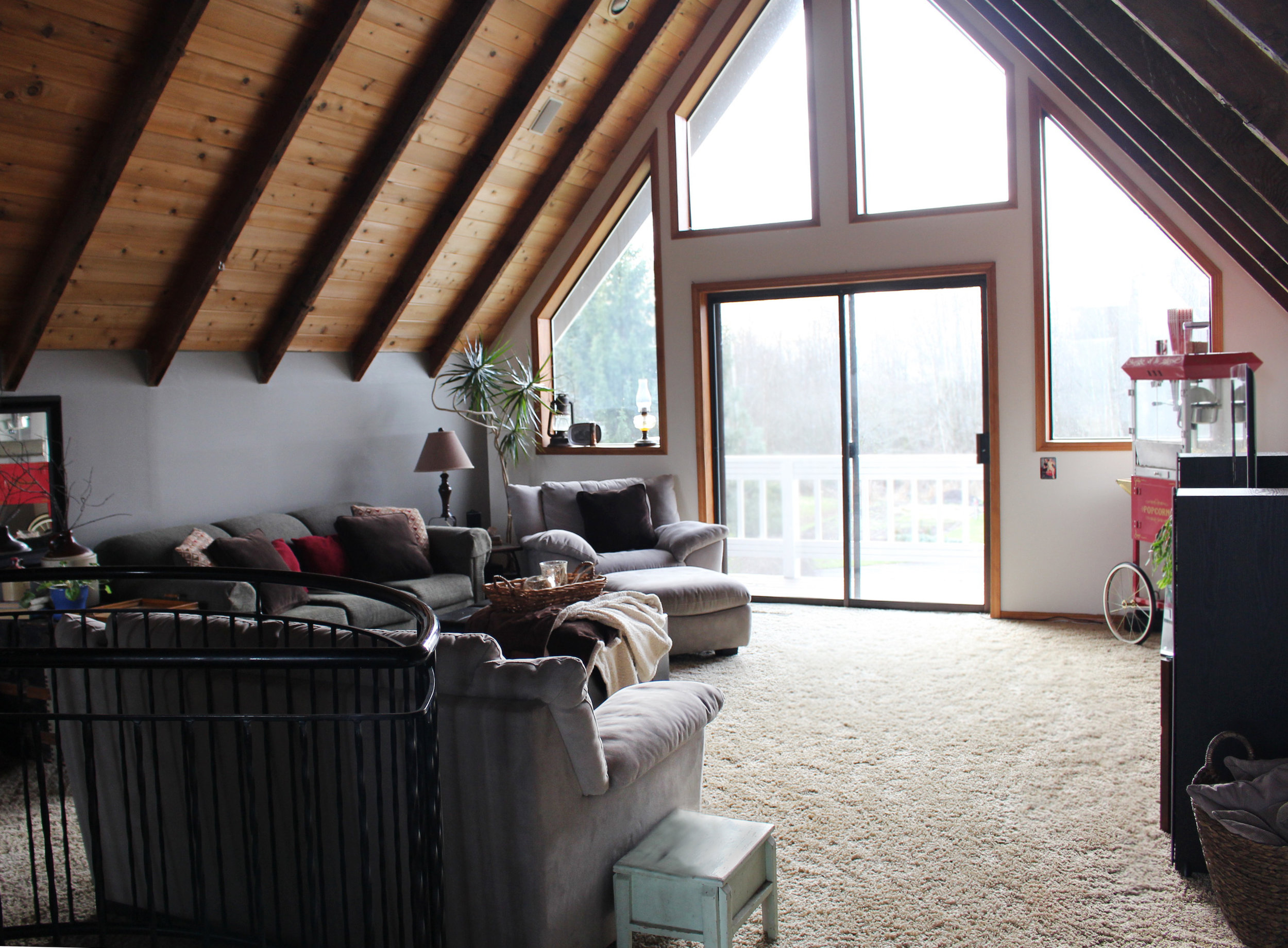 RUSTIC FAMILY ROOM PROJECT