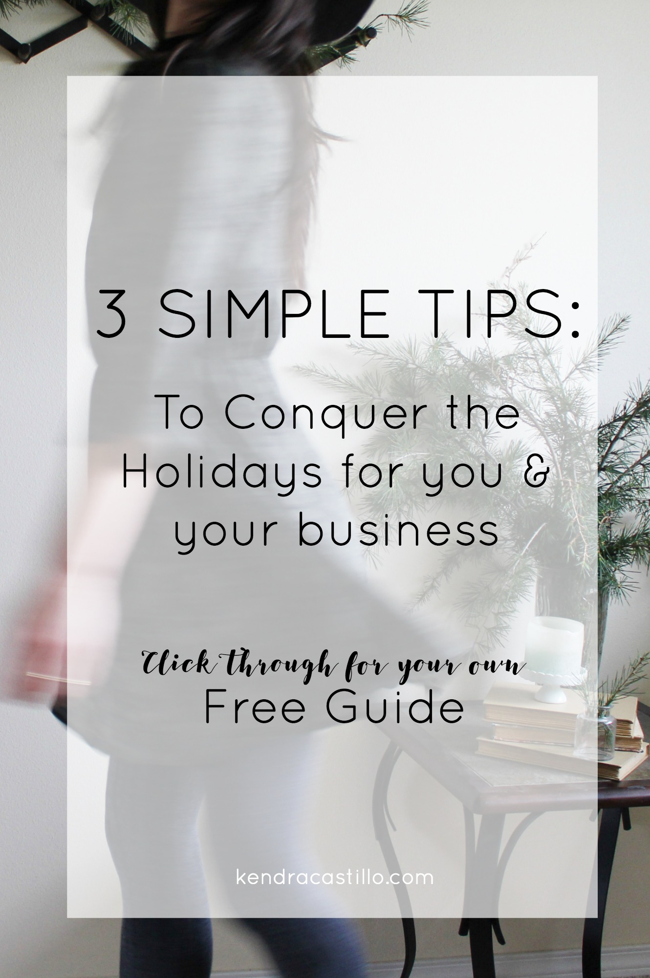 3 Tips for success for you and your business