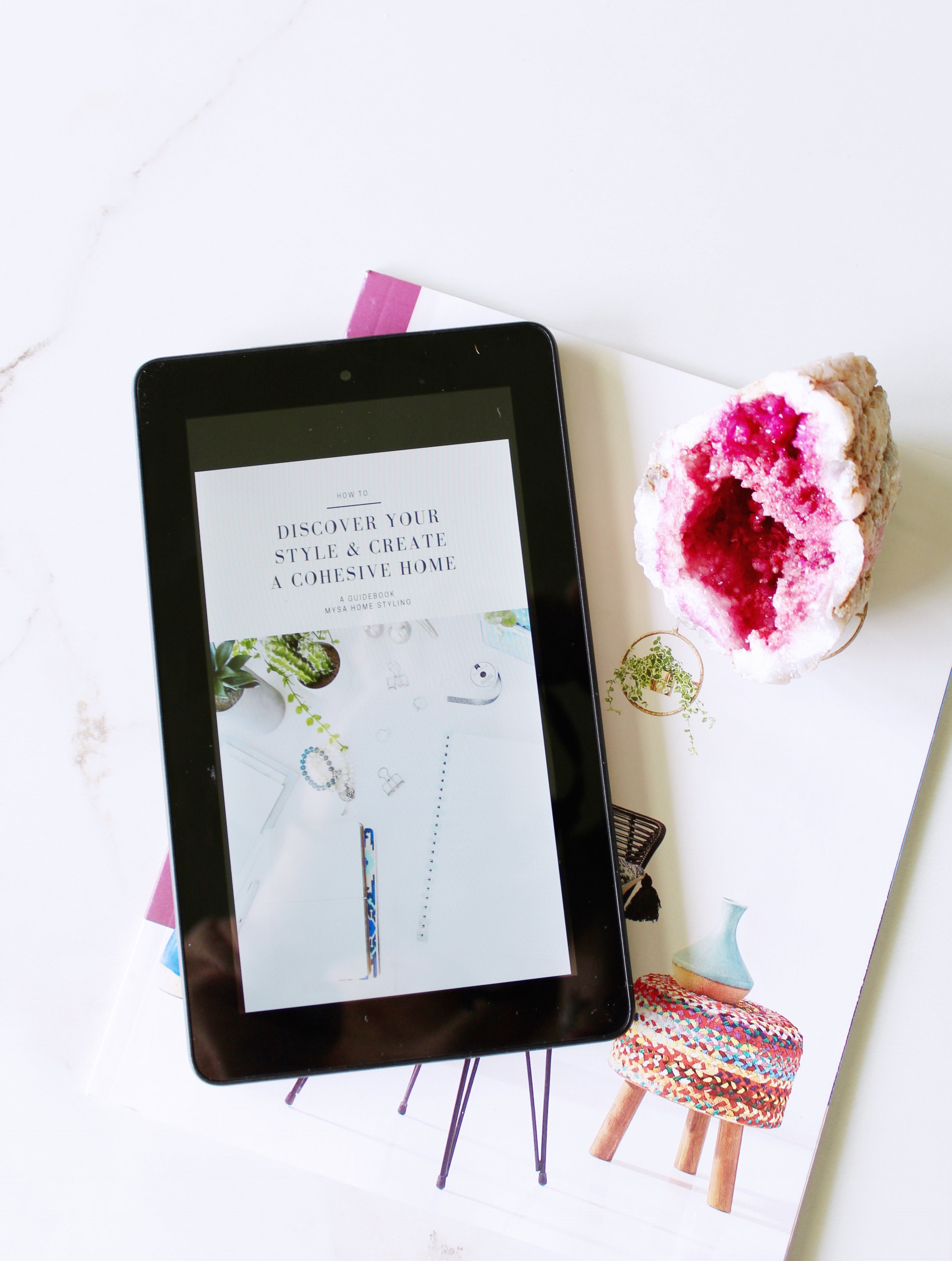 discovering your style and creating a cohesive home - 30 Page Guidebook