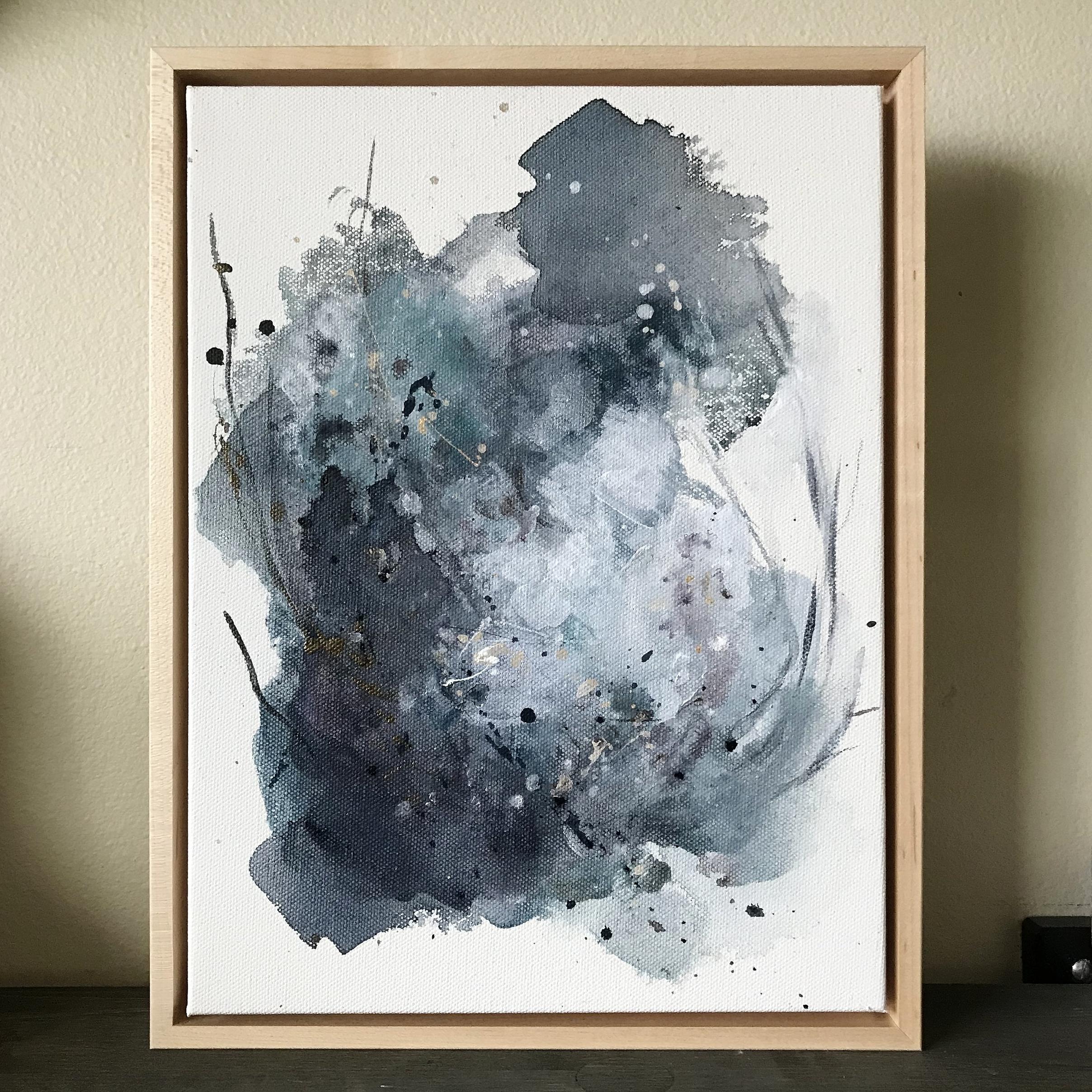 New abstract artwork coming February 4th!! - Kendra Castillo