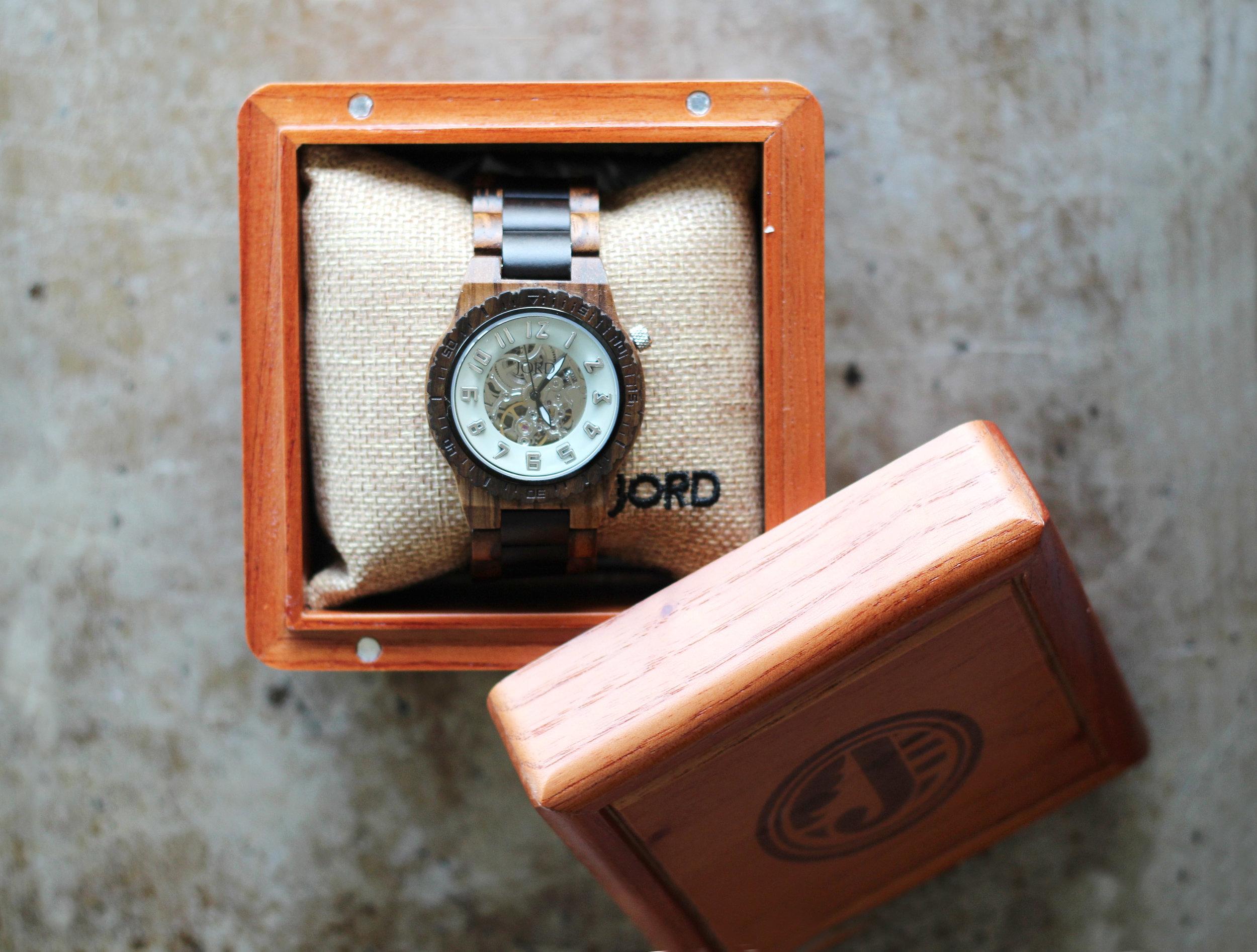 Jord Watch, Wooden Mens Watch | Kendra Castillo
