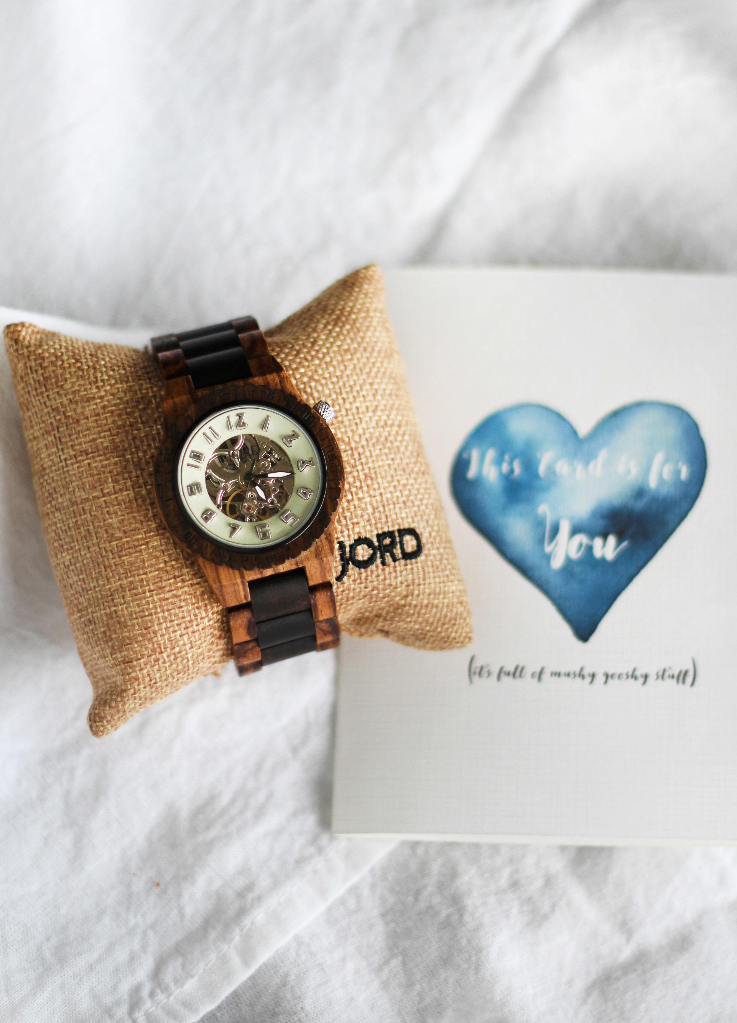 Best Wood Watch! Valentines Gift idea