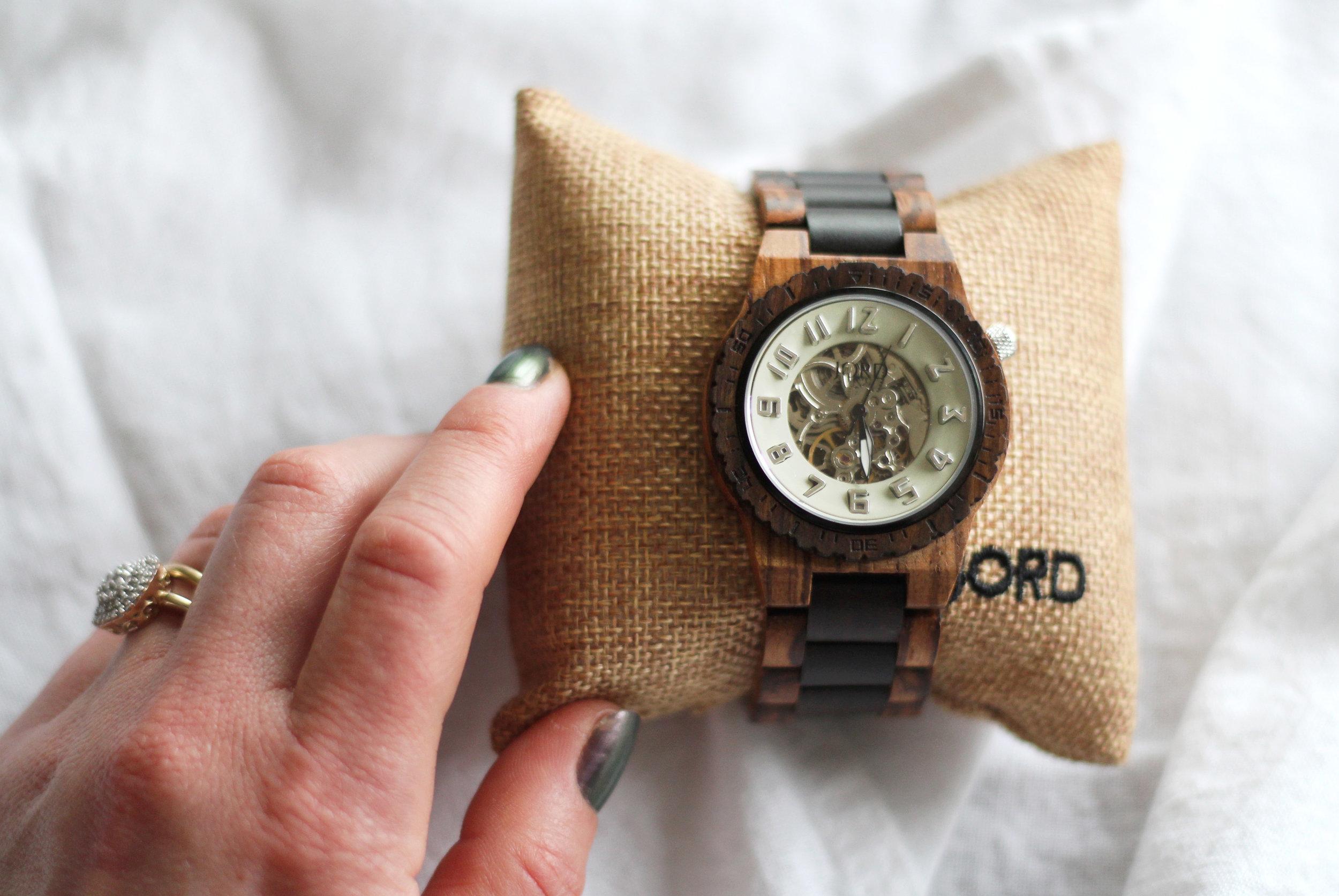 Unique mens watch gift idea