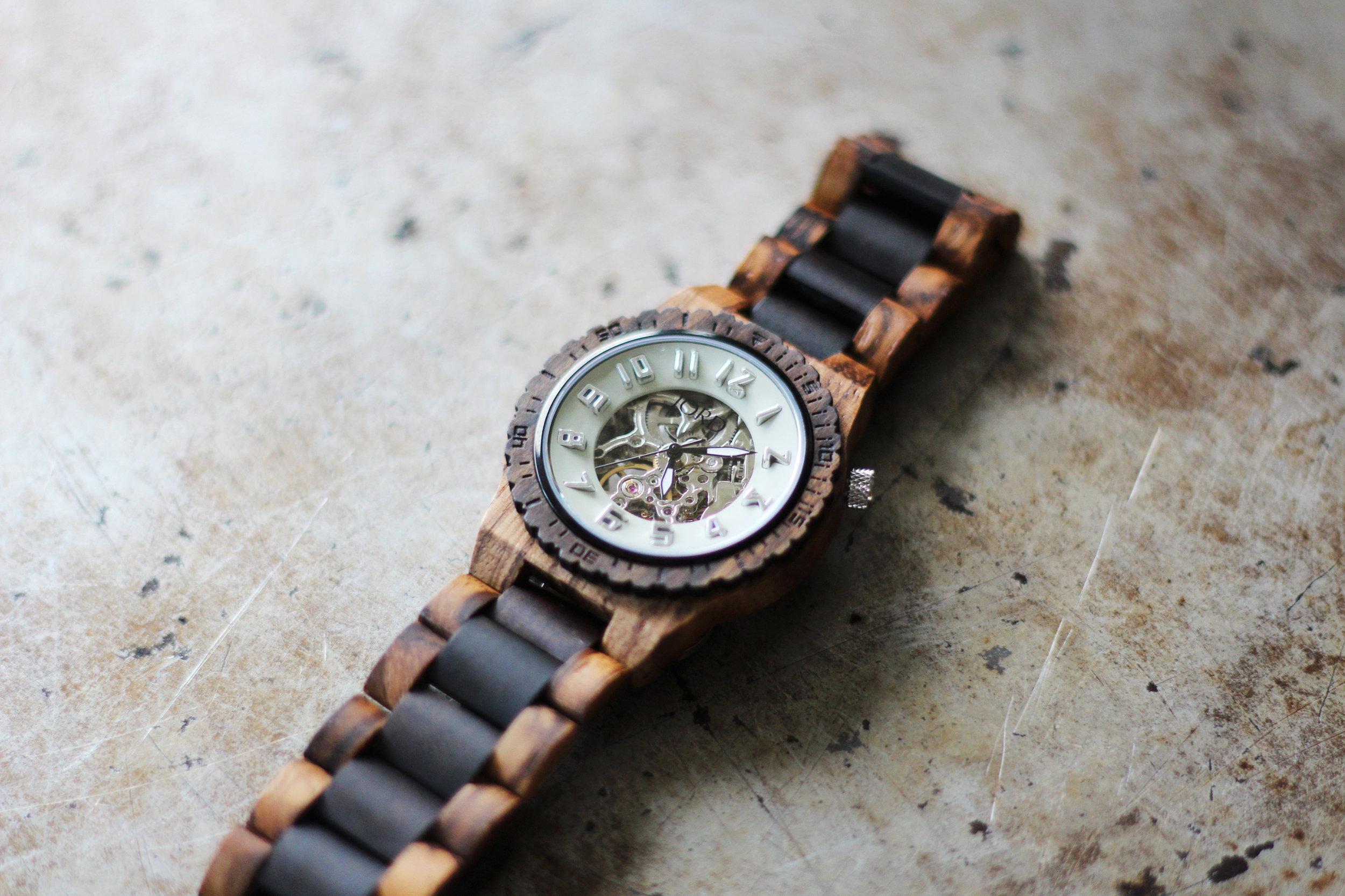 Best wooden watch!