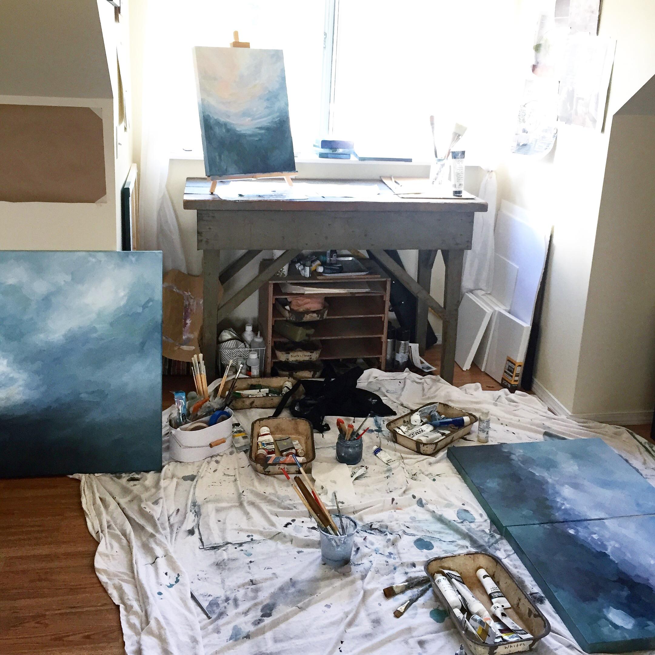 Creating Art in Small Spaces - Kendra Castillo