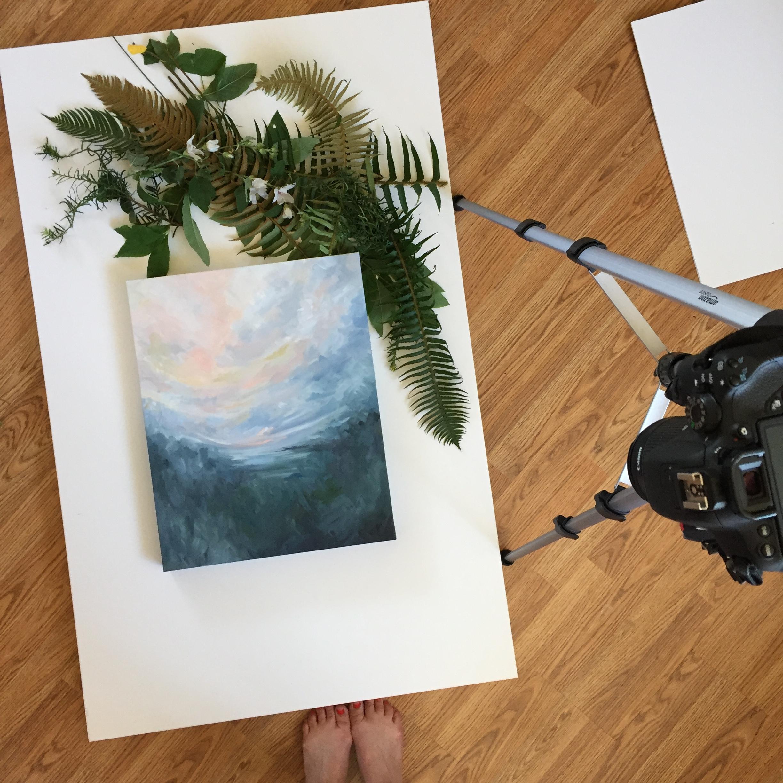 Kendra Castillo, artist in Bellingham, Washington