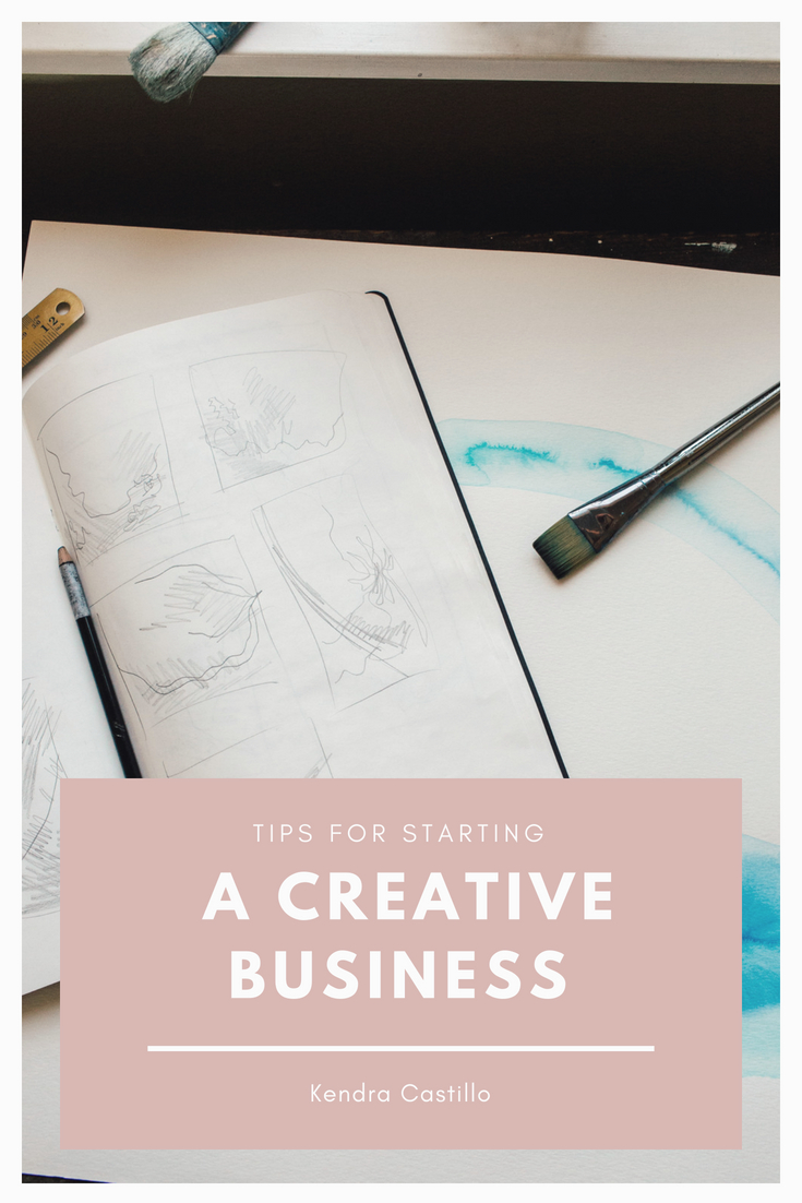 When I started my Art Business I wish someone had told me these things.. Click Here to learn more about how to start a creative business. https://kendracastillo.com/blog/tips-for-starting-a-creative-business