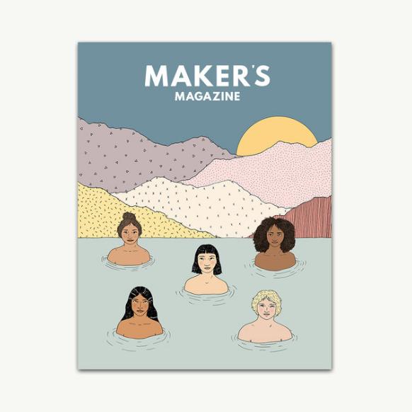 Makers Magazine issue 4: Women. Kendra Castillo feature