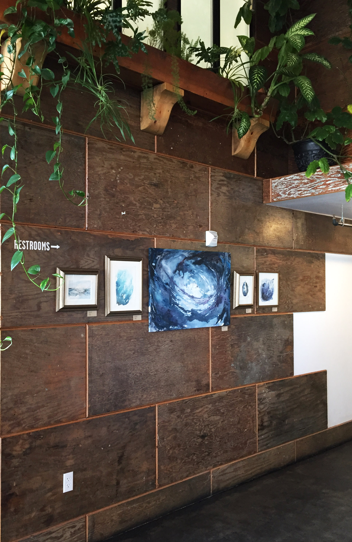 Art installation by  Kendra Castillo at Bellingham's Aslan Brewery