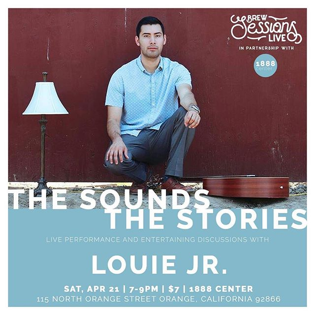 This Saturday 🙌🏽 Special night at the @1888center with the @brewsessionslive crew! Come listen to some of my tunes and be a part of some interactive dialogue! TOPIC: This little thang called MUSIC 🎶 ❤️