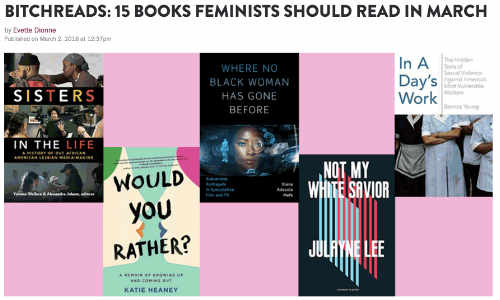 15 Books Feminists Should Read in March