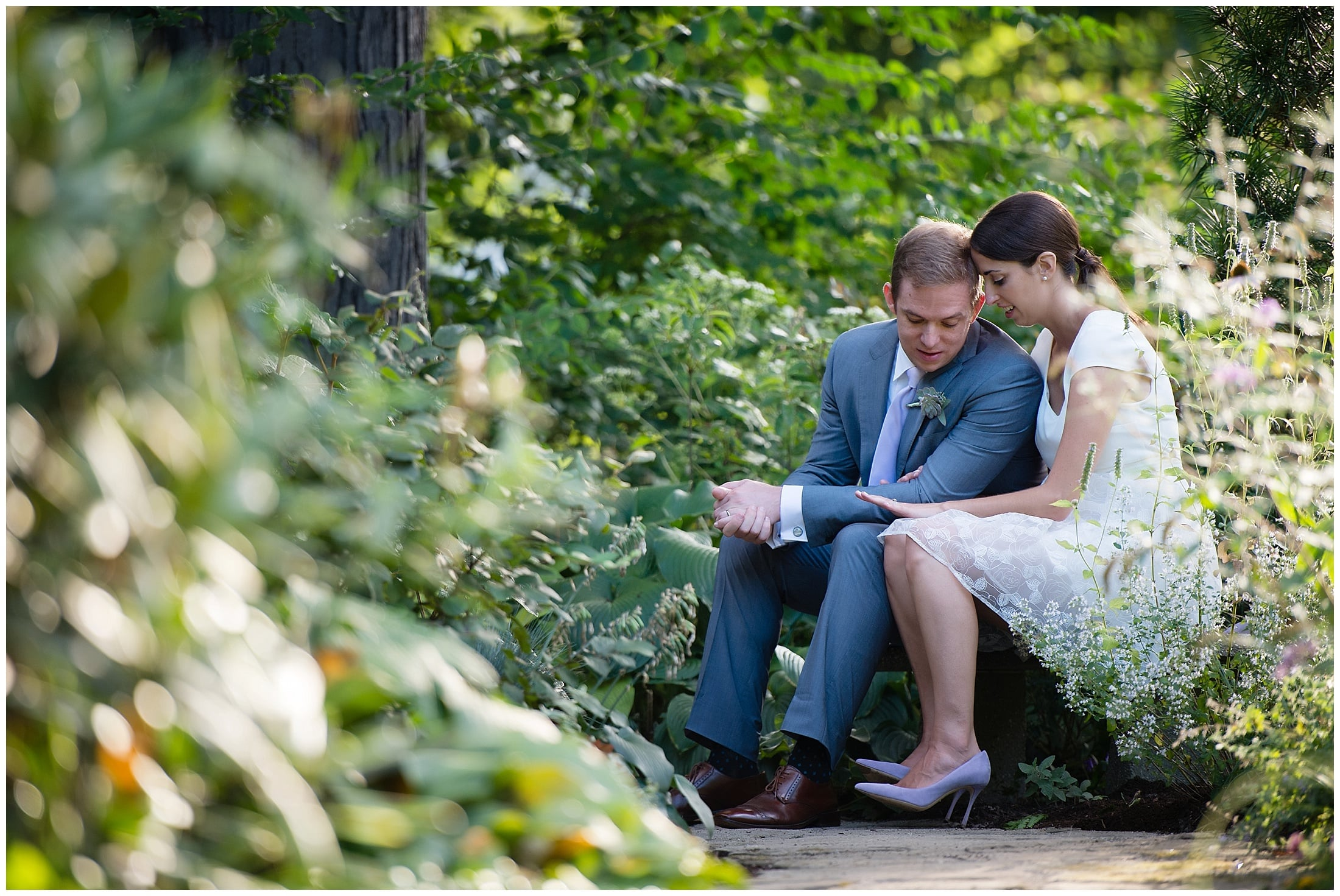 French Rustic Backyard Cleveland Wedding