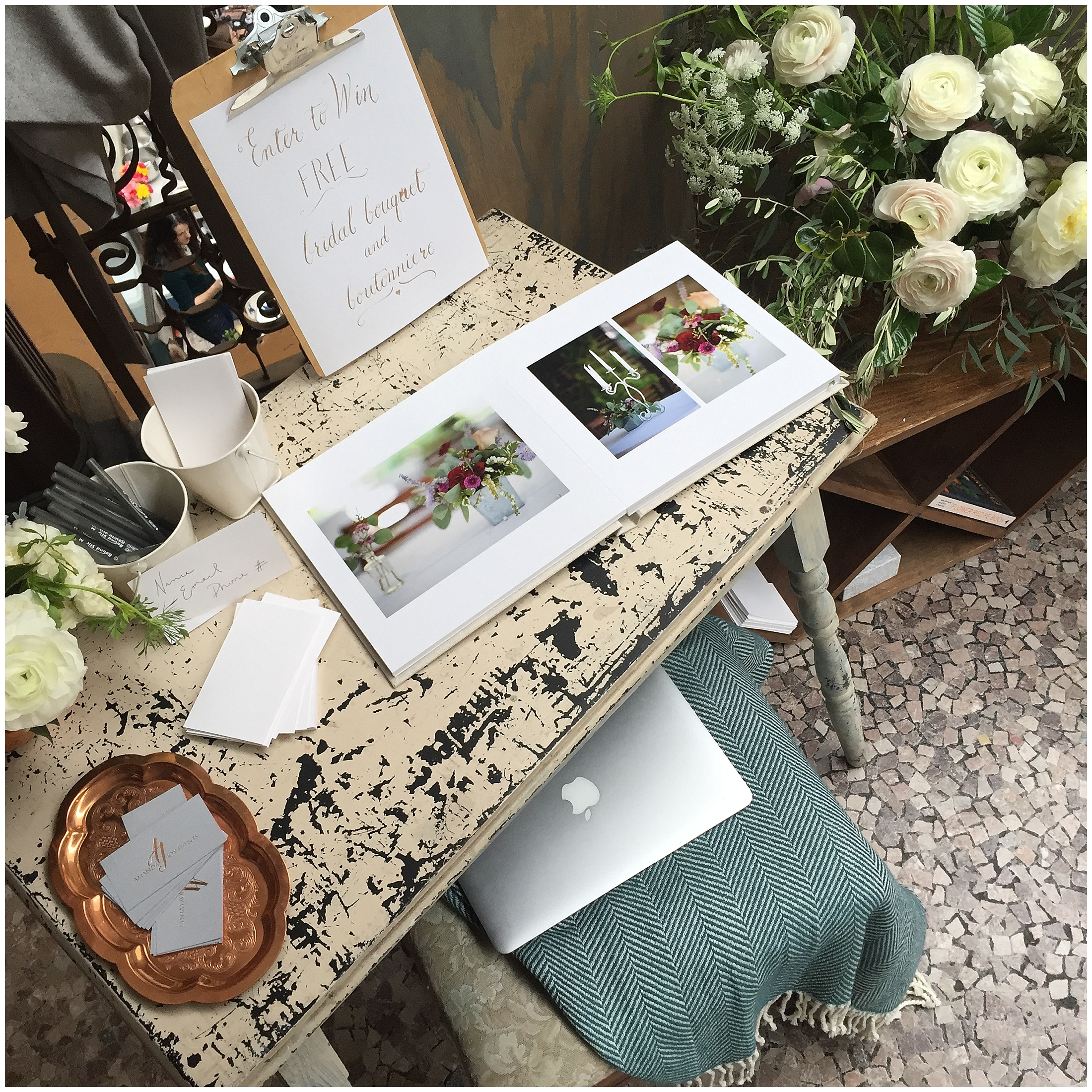 Everyone loved looking through the gorgeous album full of images by  Black Box Photography !