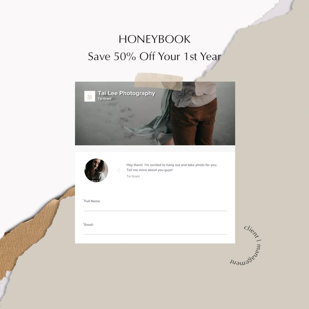 Honeybook | Save 50% Off Your 1st Year