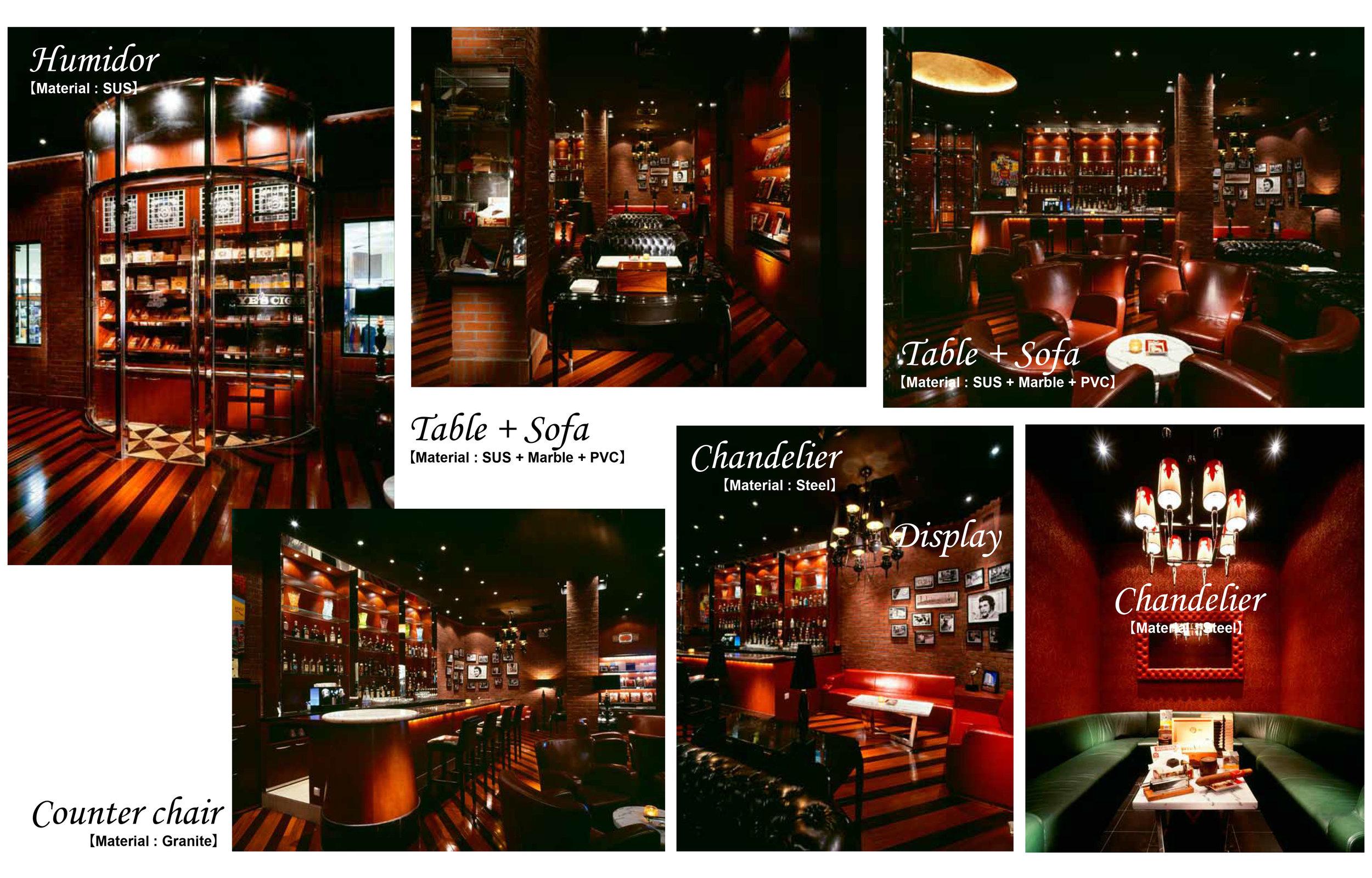 Shanghai Hilton,Cigar lounge Libre /SweeT co.,ltd