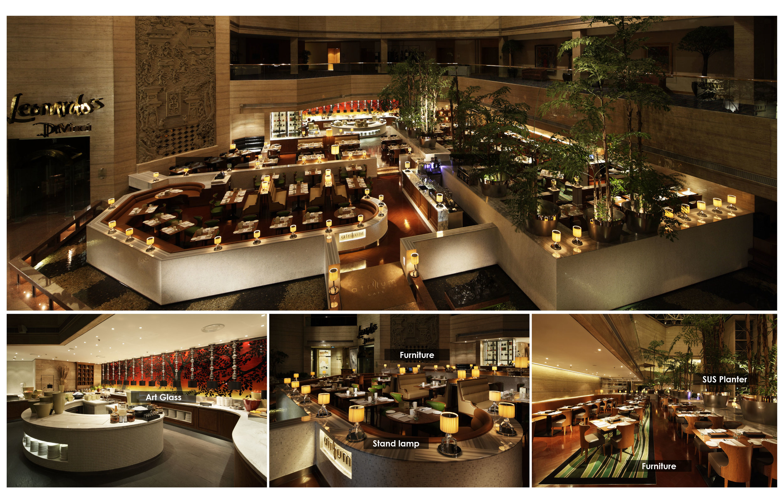 Shanghai Hilton, Artium cafe /SweeT co.,ltd