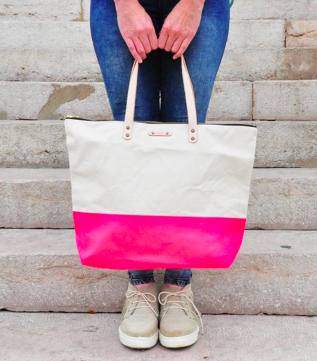 Soi 55 valentines day gift guide pink lovers kirra tote bag