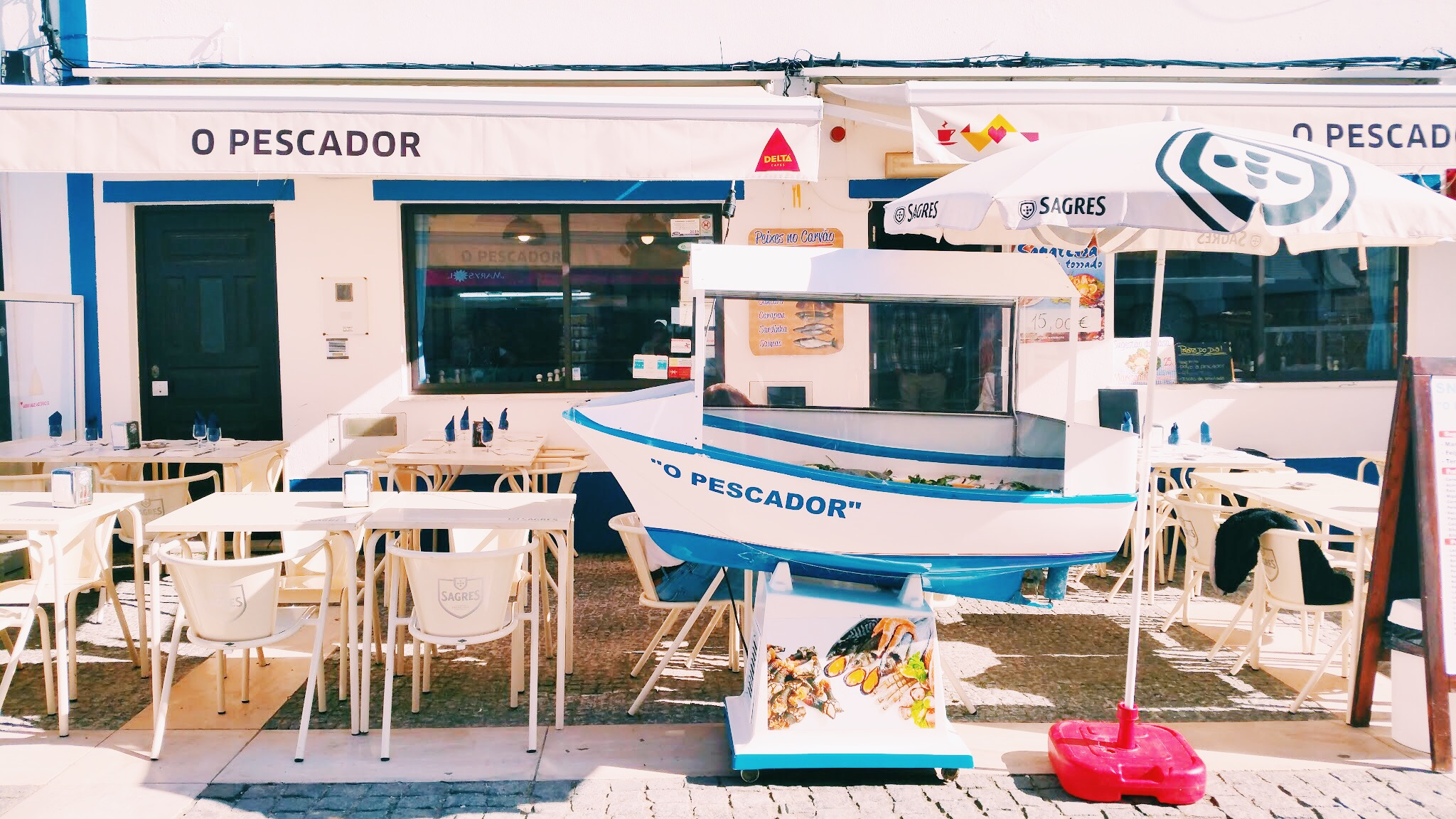 The perfect afternoon lunch spot    Restaurant O Pescador