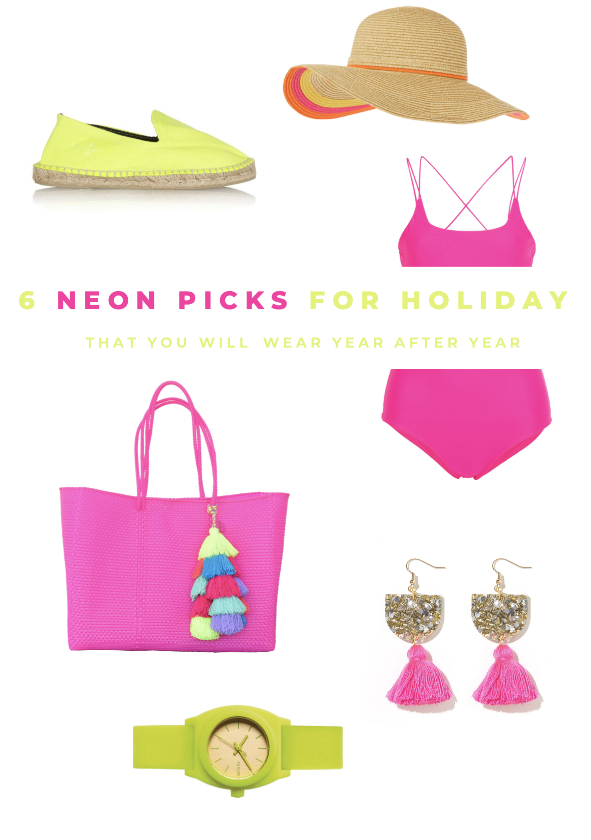6 Neon Holiday Pieces You Will Wear Year After Year