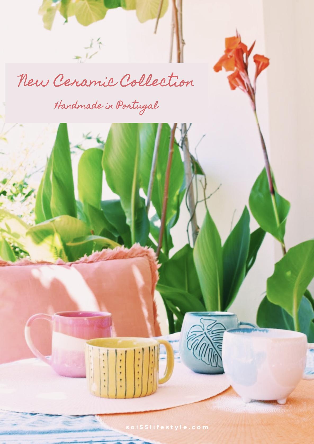 Portuguese Ceramic Mug Collection | Soi 55 Home